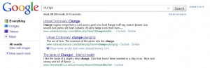 Google Instant Search - Clunge